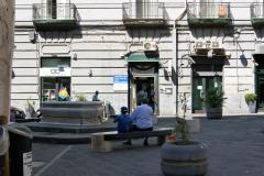 Piazza Carlo Troya e Fontana della Pietra del Pesce