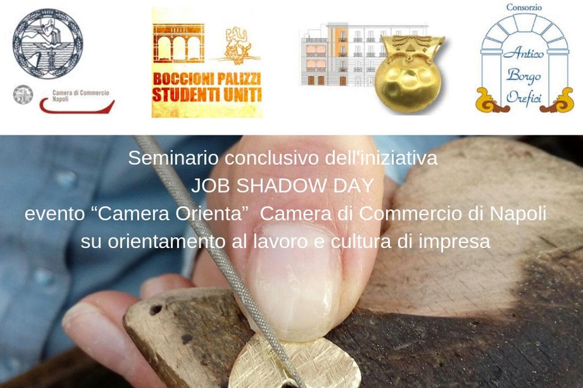 Job Shadow Day: seminario conclusivo