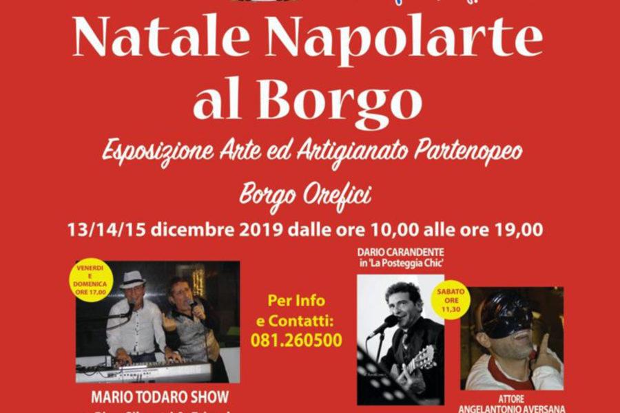 Natale Napolarte Al Borgo Orefici