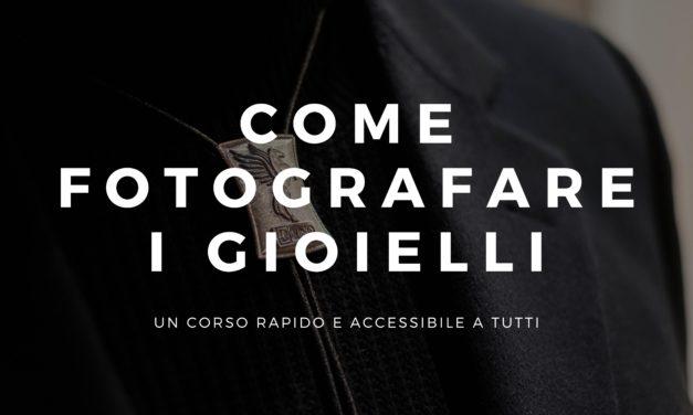 Corso di Fotografia del Gioiello