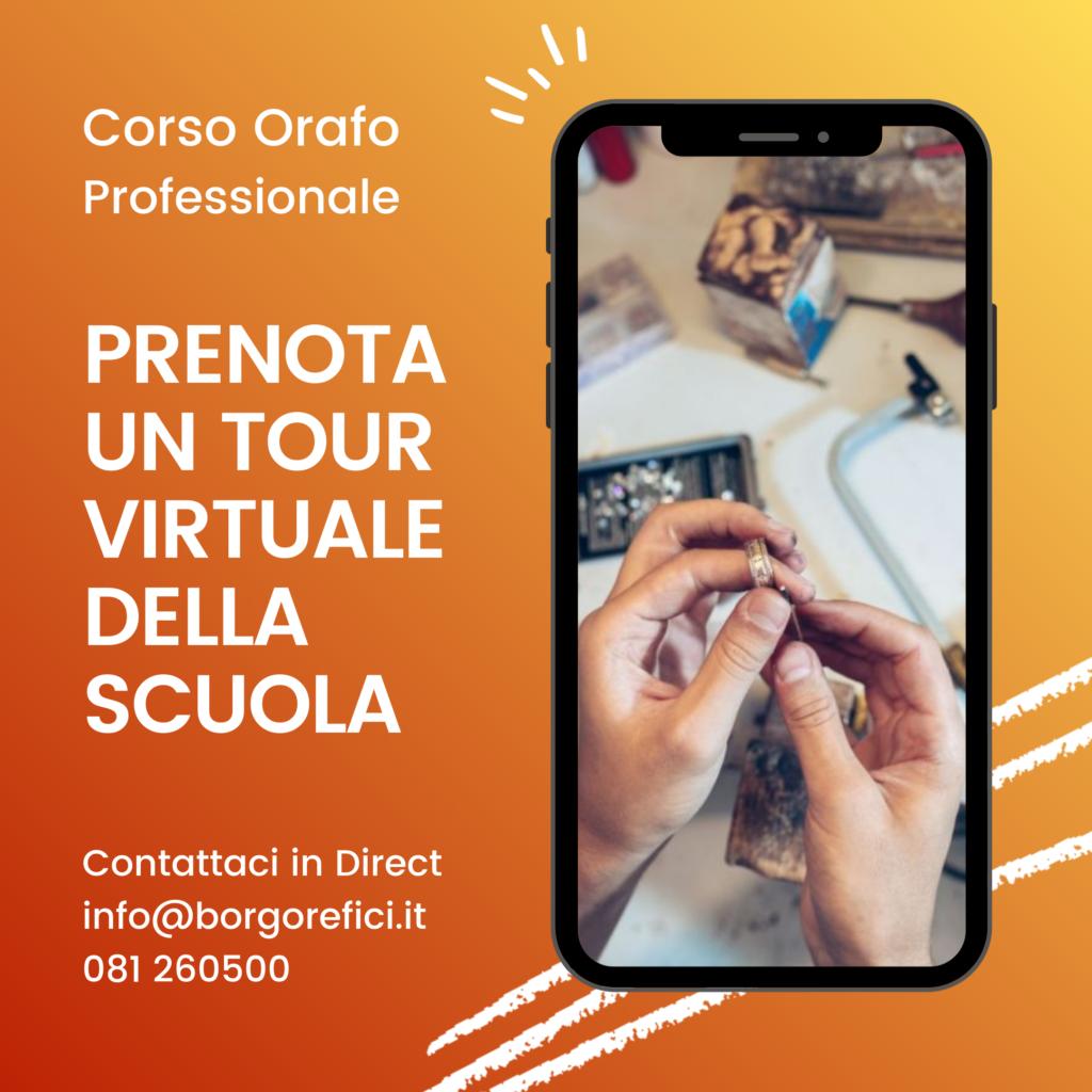 Tour virtuale Scuola Orafa