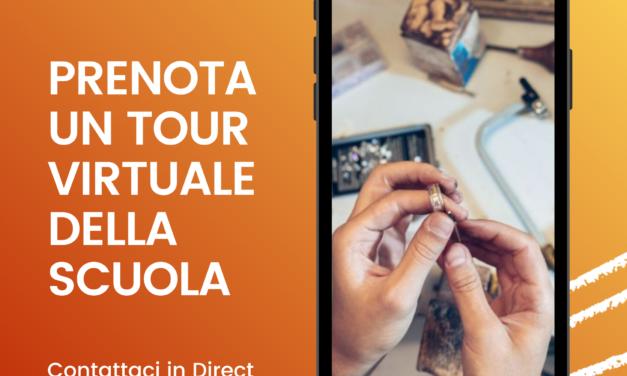 Prenota un tour virtuale della Scuola Orafa